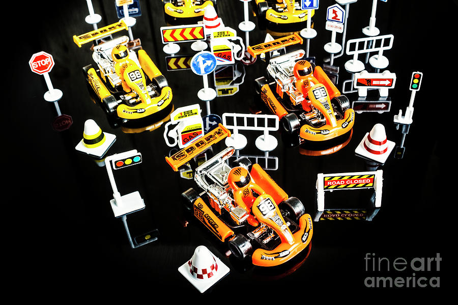 Circuit Photograph - Miniature Motorsports by Jorgo Photography - Wall Art Gallery