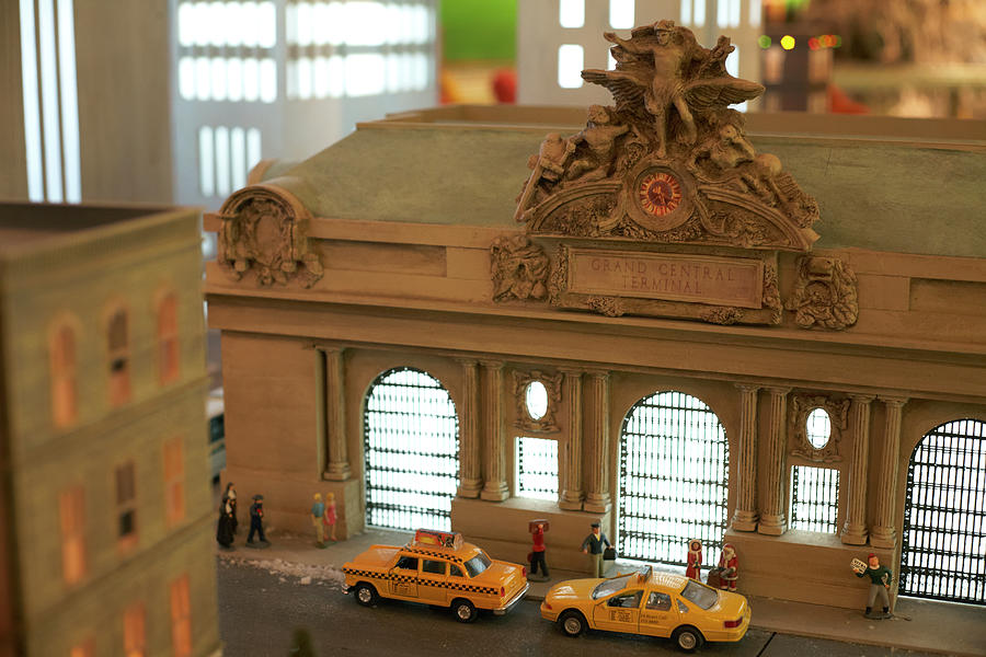 Miniature Scale Model Of Grand Central Photograph by Jason Todd