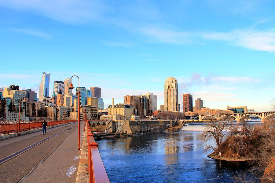 Minneapolis Downtown Photograph by J.castro