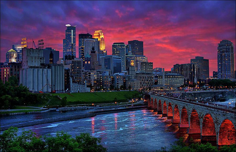 Minneapolis Eye Candy Photograph by Dan Anderson