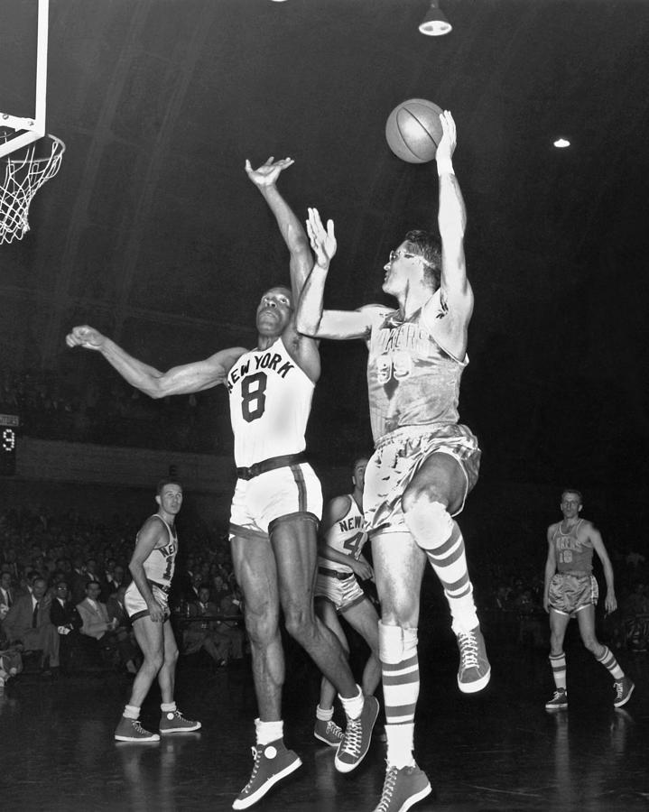 Minneapolis Lakers George Mikan Photograph by Nba Photos