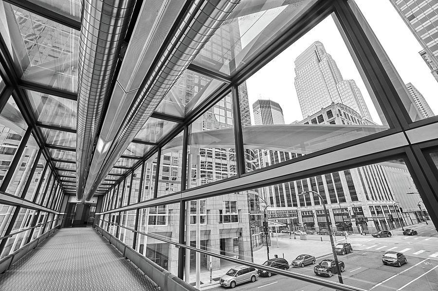 Minneapolis Skyways 5 by Jim Hughes