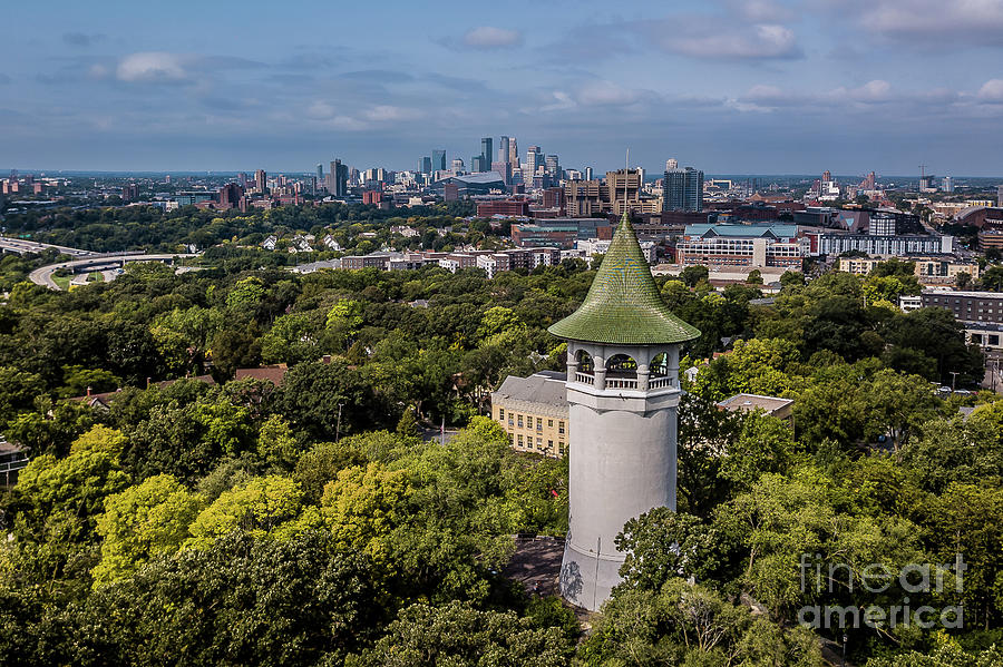 Minnesota Photograph - Minneapolis Witchs Hat Tower by Habashy Photography