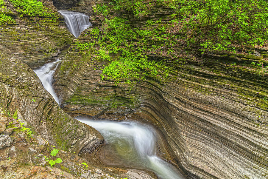 Minnehaha Falls Flow by Angelo Marcialis