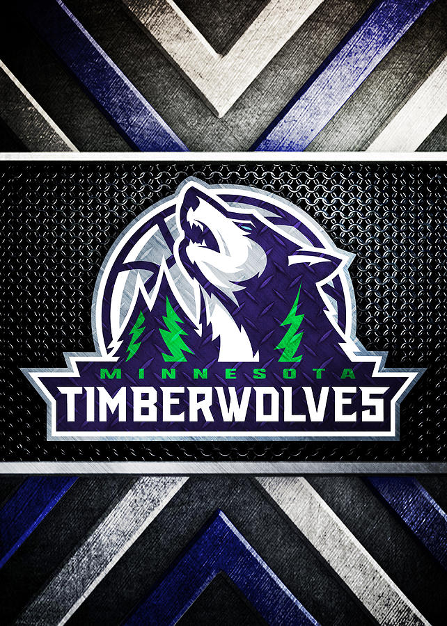 Minnesota Timberwolves Logo Art 2 Digital Art By William Ng