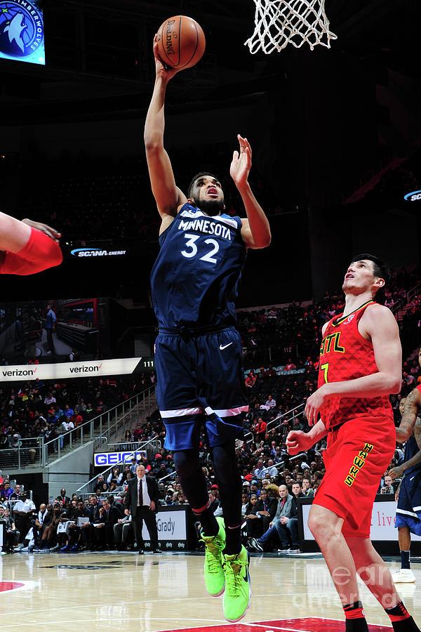 Minnesota Timberwolves V Atlanta Hawks Photograph by Scott Cunningham