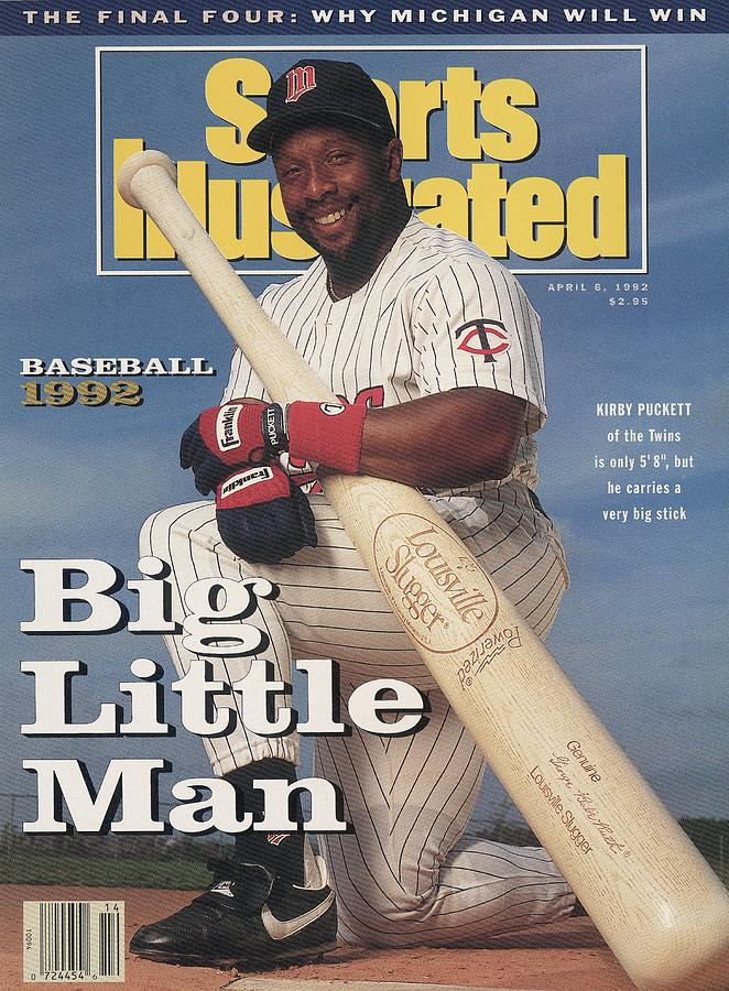 Minnesota Twins Kirby Puckett Sports Illustrated Cover Photograph by Sports Illustrated
