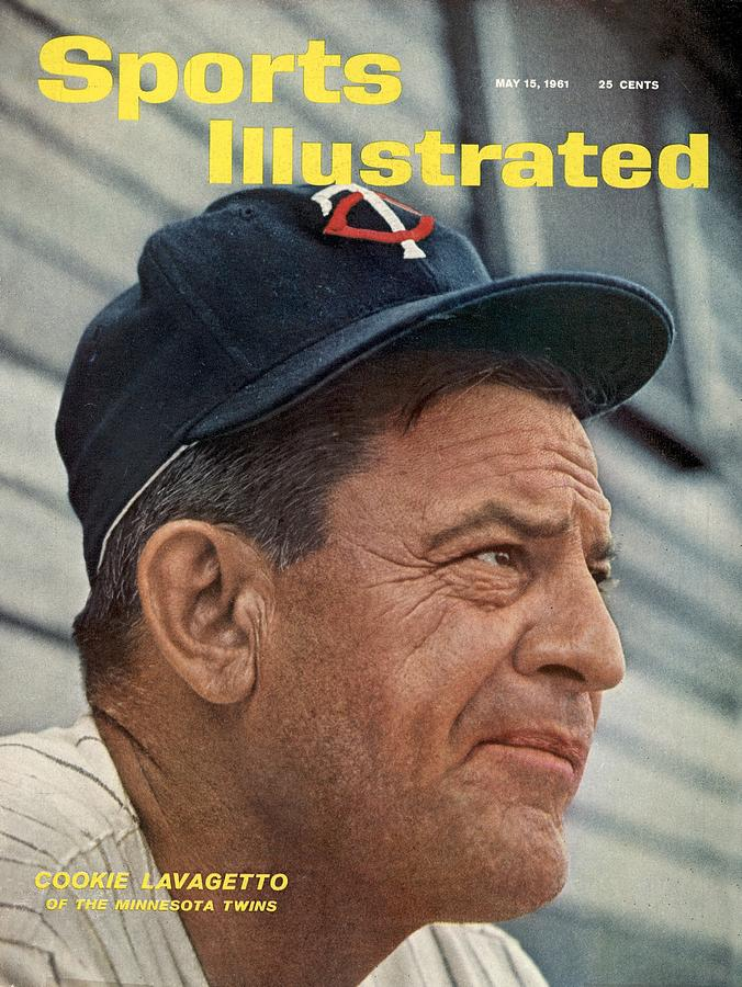 Minnesota Twins Manager Cookie Lavagetto Sports Illustrated Cover Photograph by Sports Illustrated
