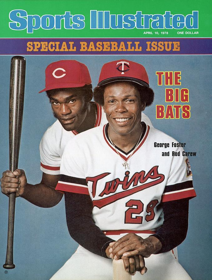 Minnesota Twins Rod Carew And Cincinnati Reds George Sports Illustrated Cover Photograph by Sports Illustrated