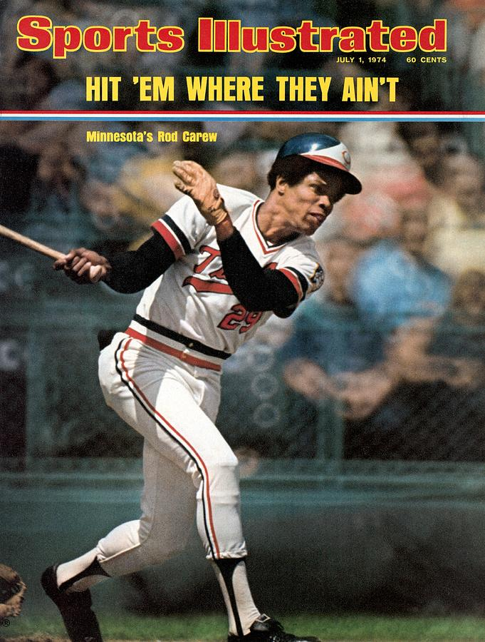 Minnesota Twins Rod Carew... Sports Illustrated Cover Photograph by Sports Illustrated