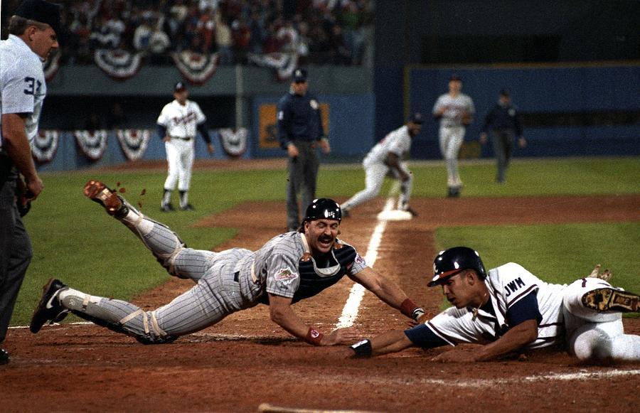 Minnesota Twins V Atlanta Braves Photograph by Ronald C. Modra/sports Imagery