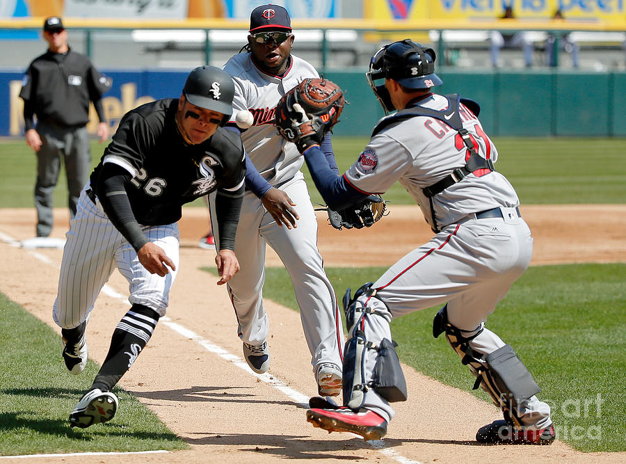 Minnesota Twins V Chicago White Sox Photograph by Jon Durr
