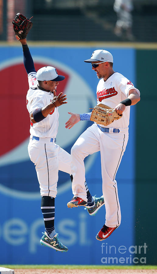 Minnesota Twins V Cleveland Indians Photograph by Ron Schwane