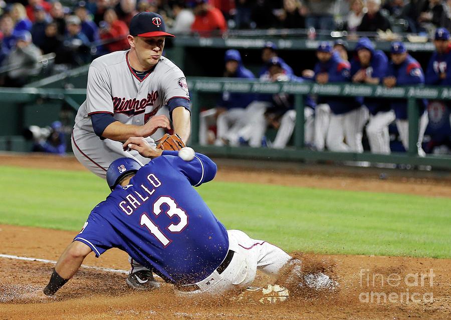 Minnesota Twins V Texas Rangers Photograph by Brandon Wade