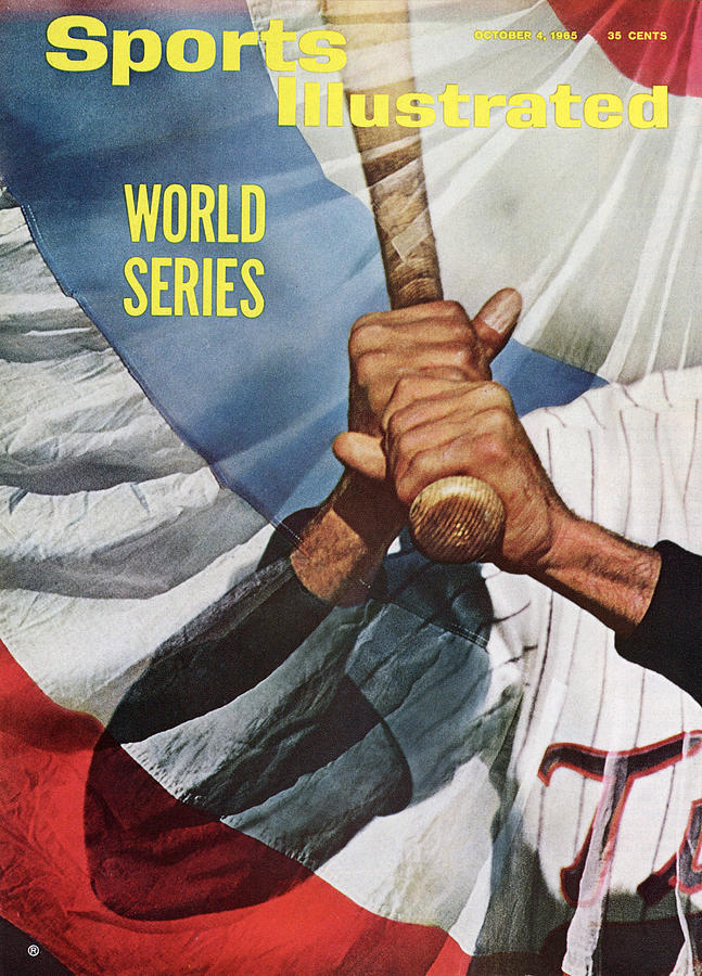 Minnesota Twins Zoilo Versalles Sports Illustrated Cover Photograph by Sports Illustrated