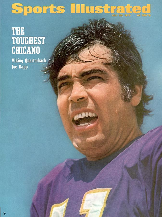 Minnesota Vikings Qb Joe Kapp Sports Illustrated Cover Photograph by Sports Illustrated