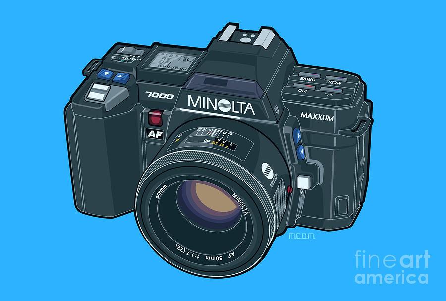 Minolta Maxxum Alpha 7000 35mm Autofocus SLR by Tom Mayer