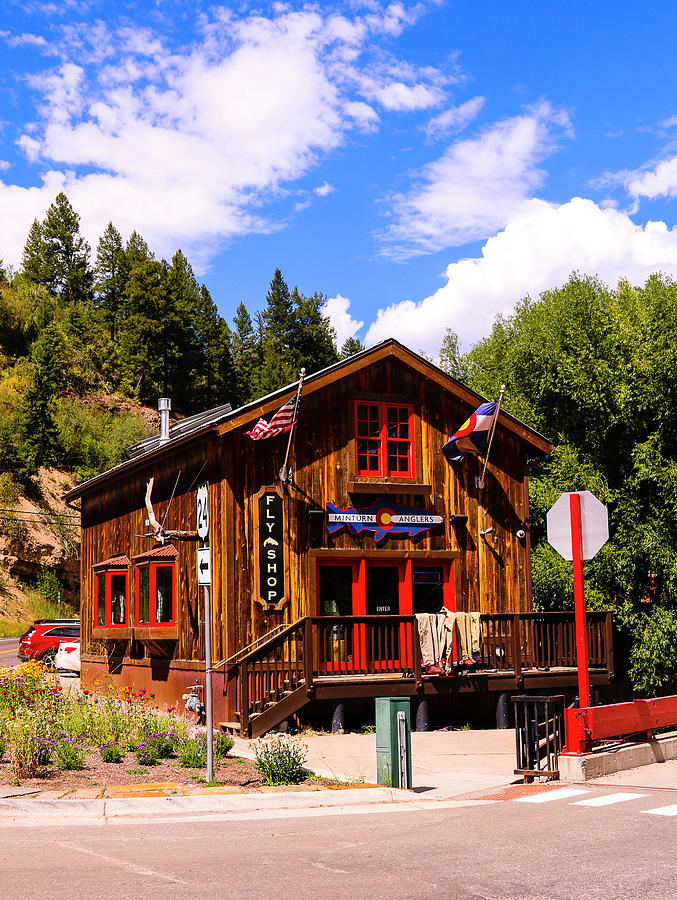 Minturn Anglers Fly Shop In Minturn Colorado Photograph