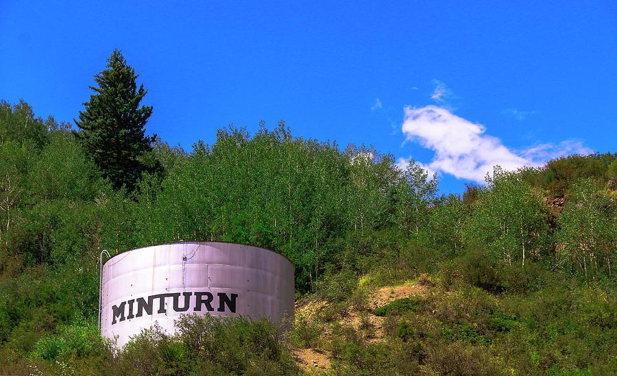 Minturn Water Tower Photograph