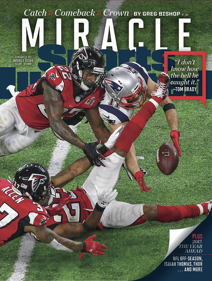 Miracle Catch, Comeback, Crown Sports Illustrated Cover Photograph by Sports Illustrated