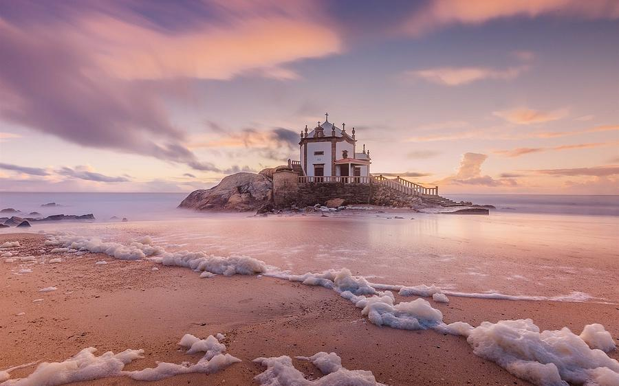 Beach Photograph - Miramar Beach Chapel by Markus Hermannsdorfer