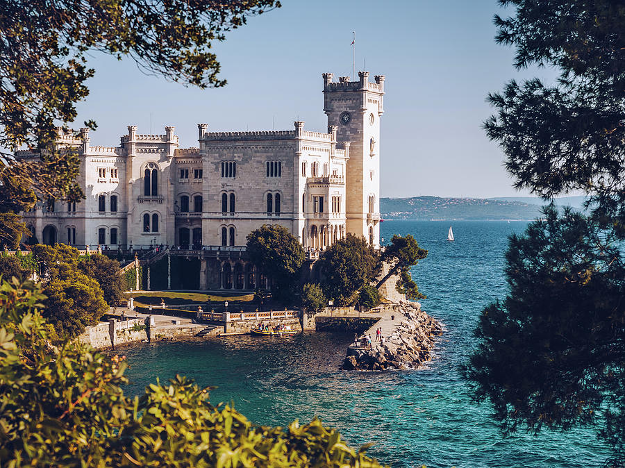 Miramare Castle - Trieste, Italy Photograph by Alexander Voss