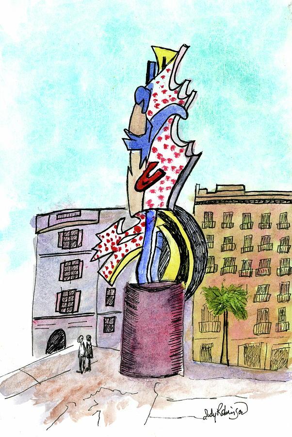 Roy Lichtenstein's El Cap by Judy Robinson