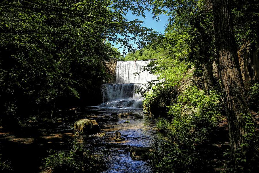 Mirror Lake Waterfall 1 Photograph