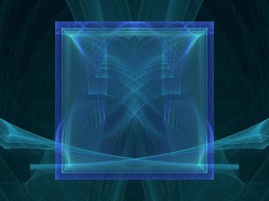 Mirror of Cubes by Richard J Cassato