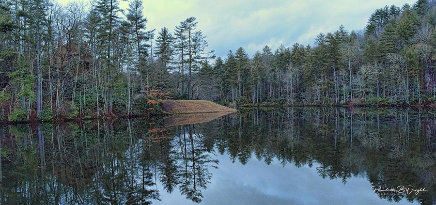 Mirrored Island by Paulette B Wright