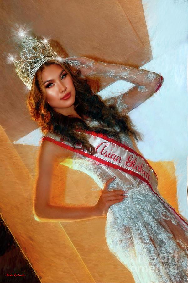 Miss Asian Global 2018 Uchka Uchral by Blake Richards
