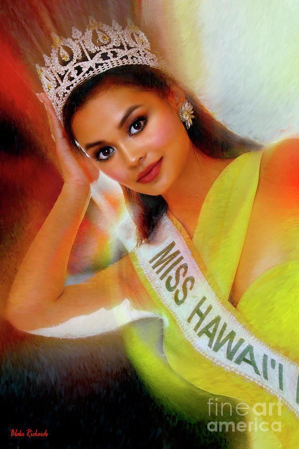 Miss Hawaii International 2019 Raquel Basco  by Blake Richards