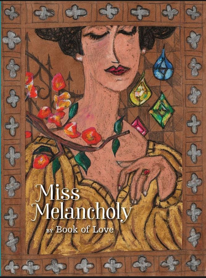Drawings Painting - Miss Melancholy Cover by Susan Ottaviano