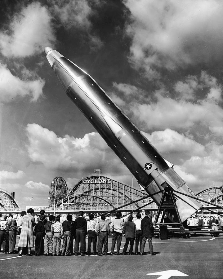 Missile And Cyclone Photograph by Hulton Archive