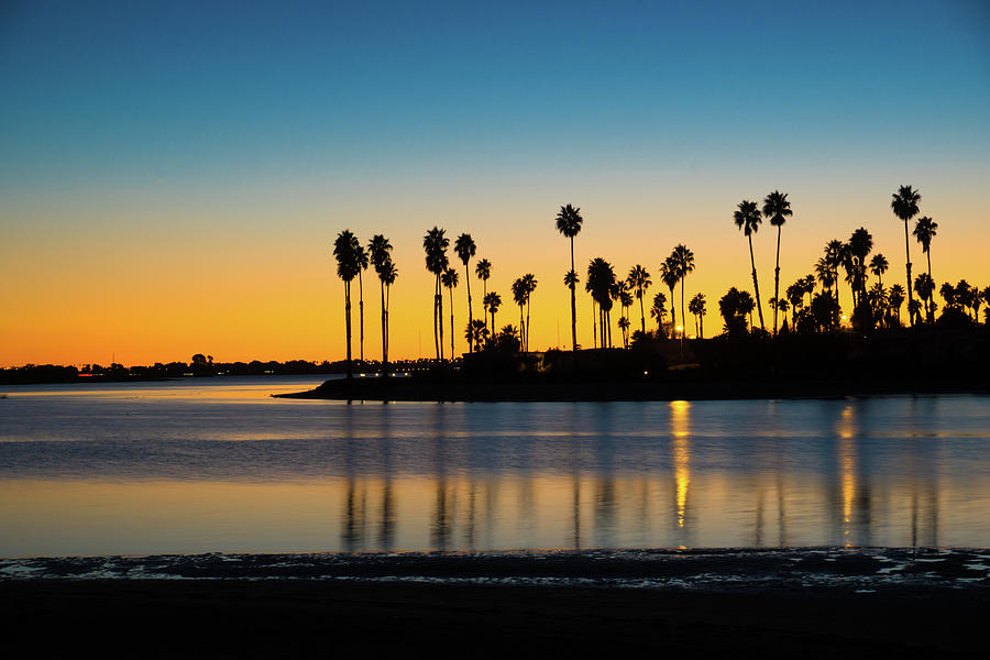 Mission Bay Sunset oo1 by Richard A Brown
