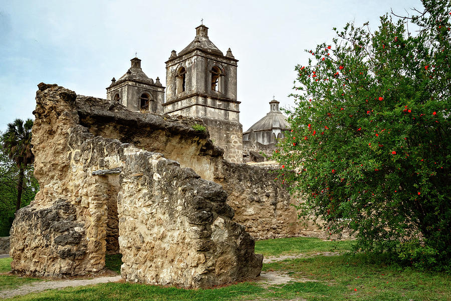 Mission Concepcion by Lana Trussell