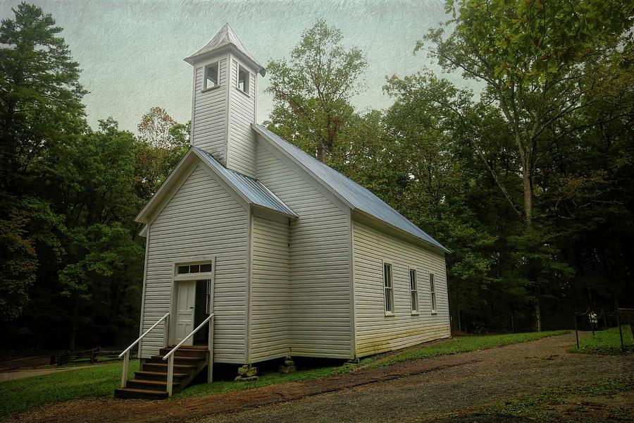 Missionary Baptist Church Cades Cove Photograph