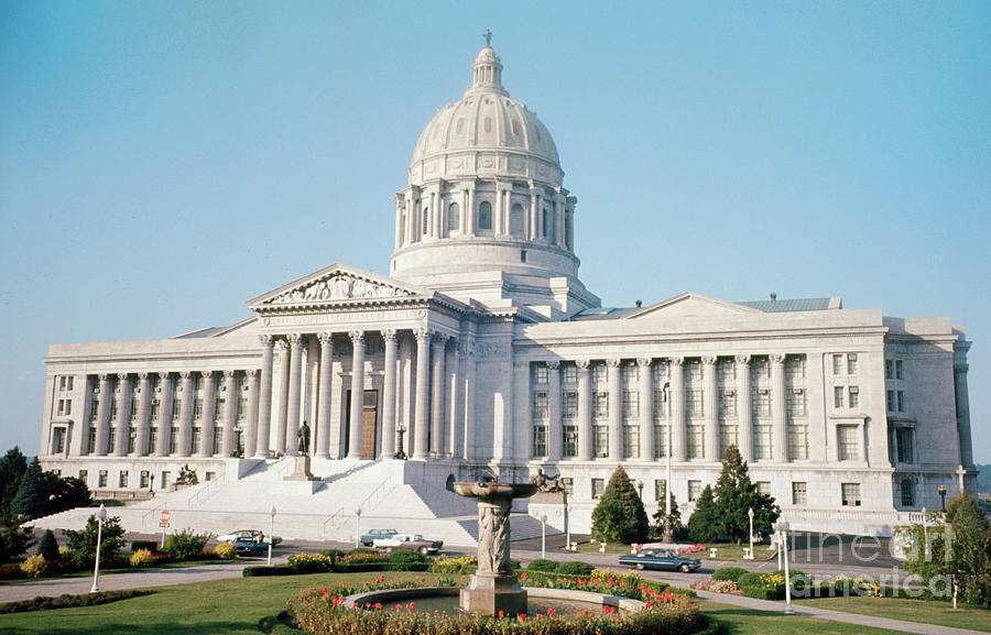 Missouri State Capitol Photograph by Bettmann