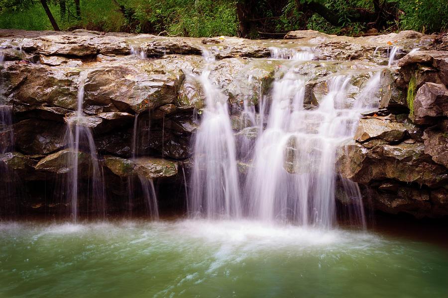 Missouri Waterfall Photograph by Mel Pilkington, Fairfeather Art