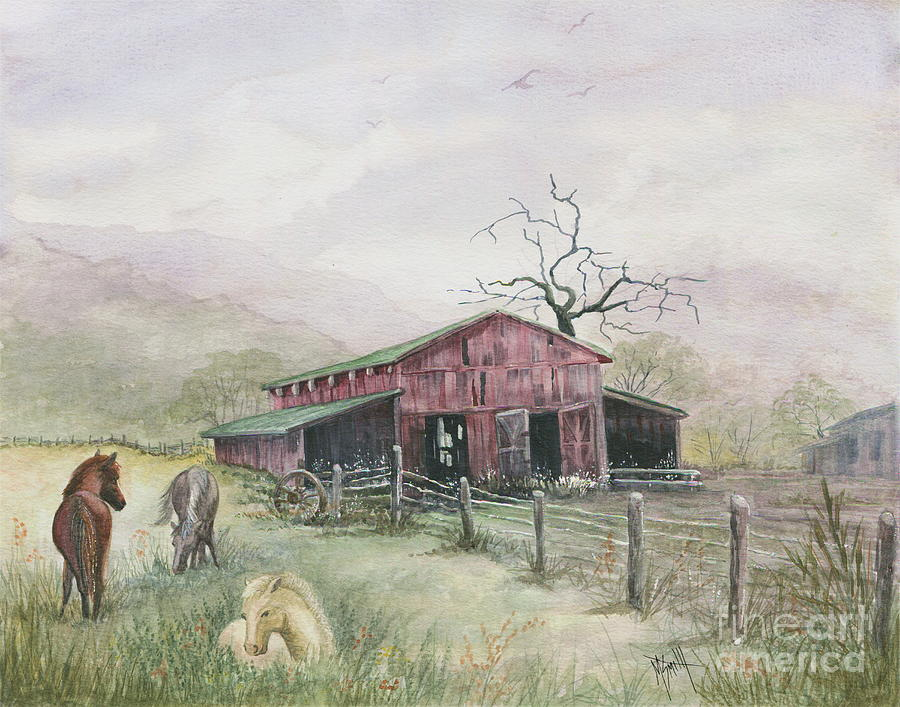 Mist In The Wind by Marilyn Smith