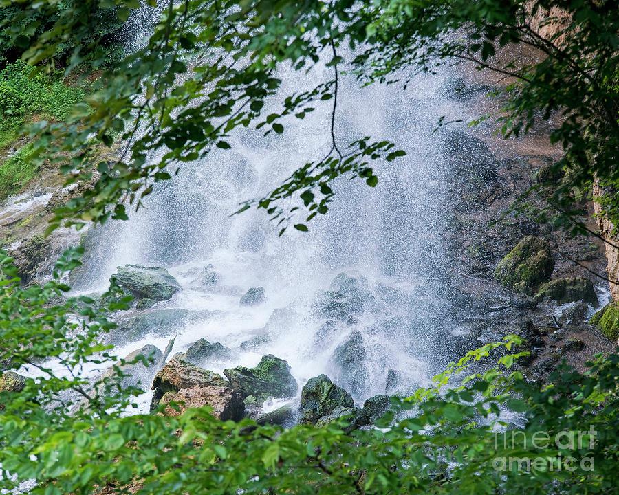 Rocks Photograph - Mist On The Rocks by Eric Killian