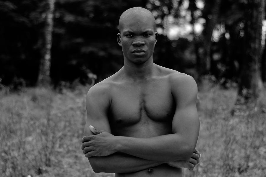 Africa Photograph - Mister Nguka in the Bushes by AJ Paris
