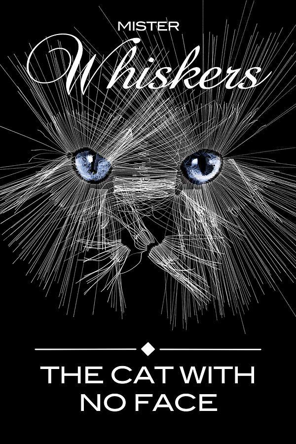 Mister Whiskers Digital Art