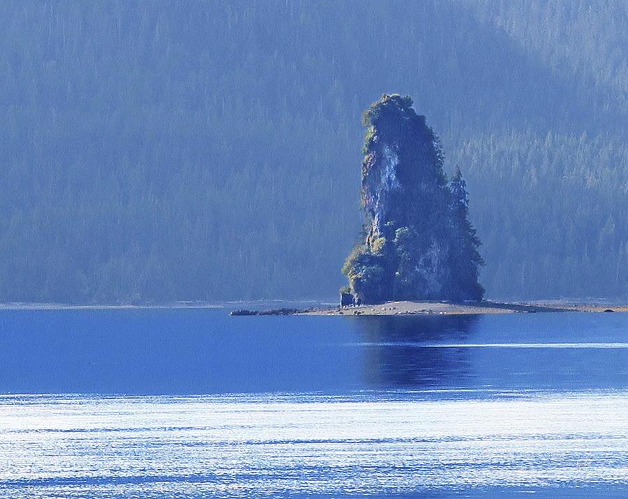 Misty Fjords Eddystone Rock by Russ Harris