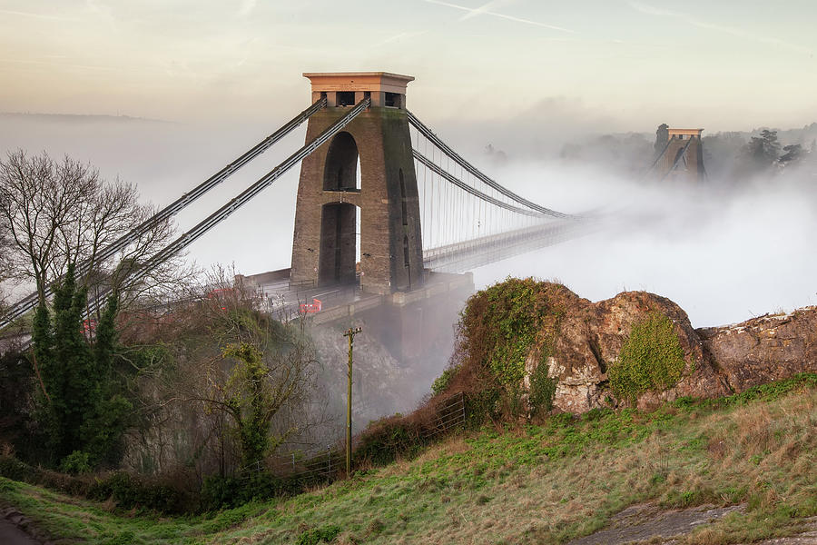 Misty Morning At Clifton Photograph by Paul C Stokes