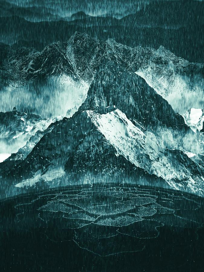 Misty Mountains by Michael Reynolds