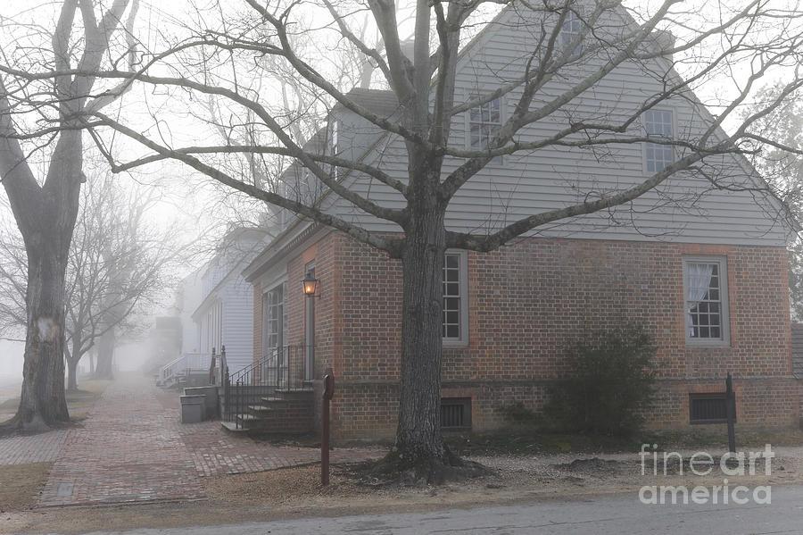 Misty Road by Rachel Morrison