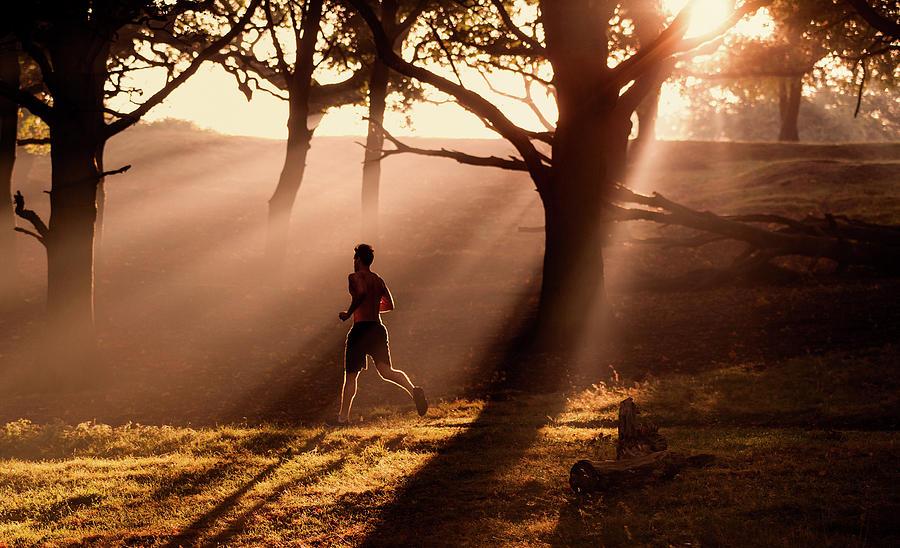 Misty Run Photograph by John And Tina Reid