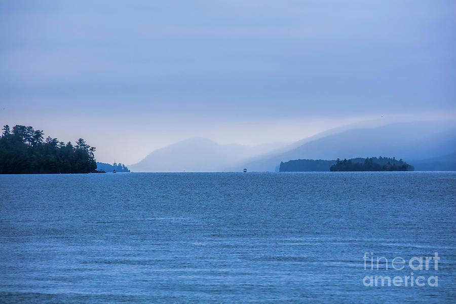 Lake George Photograph - Misty Twilight, Lake George, New York by Felix Lai