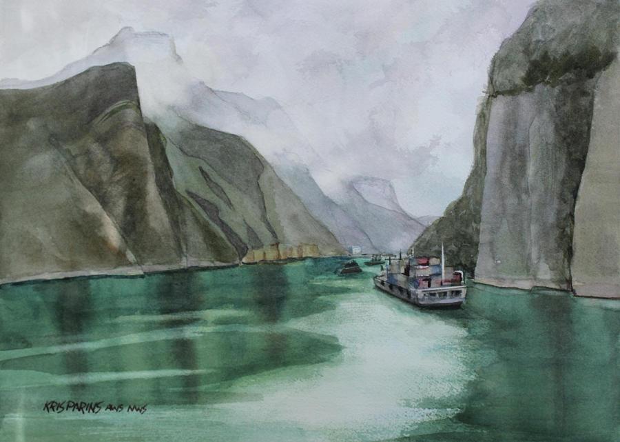 Misty Voyage by Kris Parins